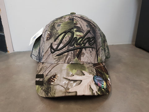 BALLCAP - DODGE CAMO MESH VELCRO ADJUSTABLE