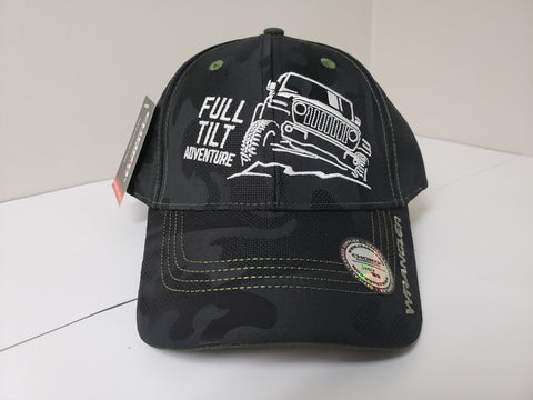 Jeep Wrangler Full Tilt Baseball Cap CLEARANCE