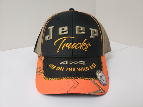 Jeep Trucks Camo Baseball Hat | Jeep Gladiator