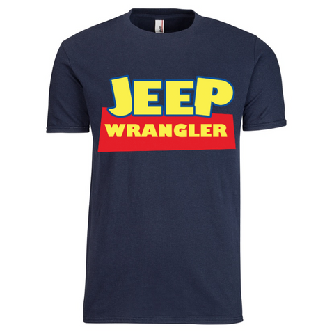 Jeep Toy Story Motif #Disneyside T-Shirt | Navy Clearance
