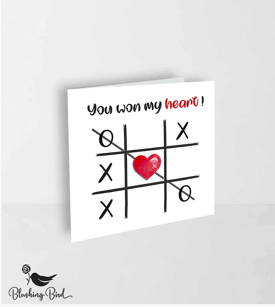 You won my heart card !