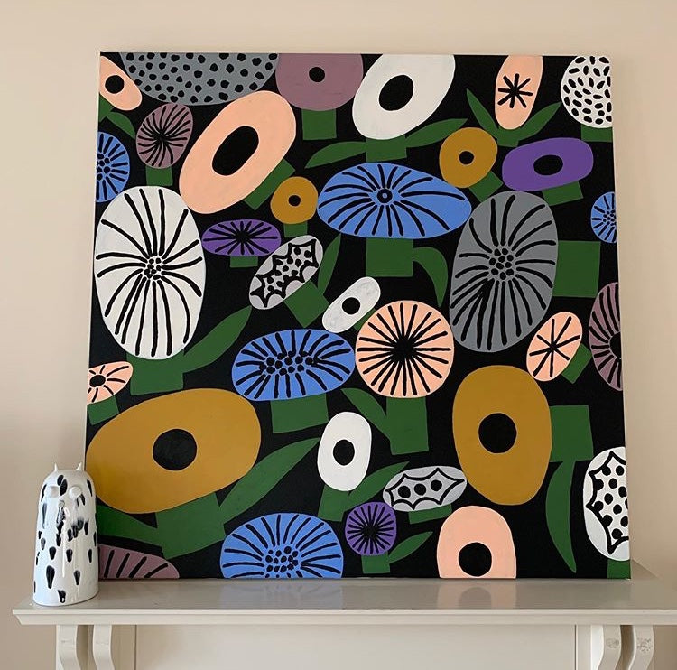 Wild Flowers Painting