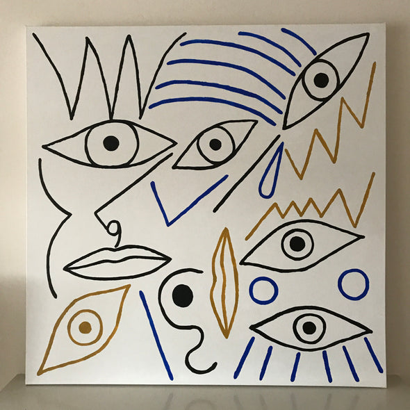 Sold  - Abstract Eyes
