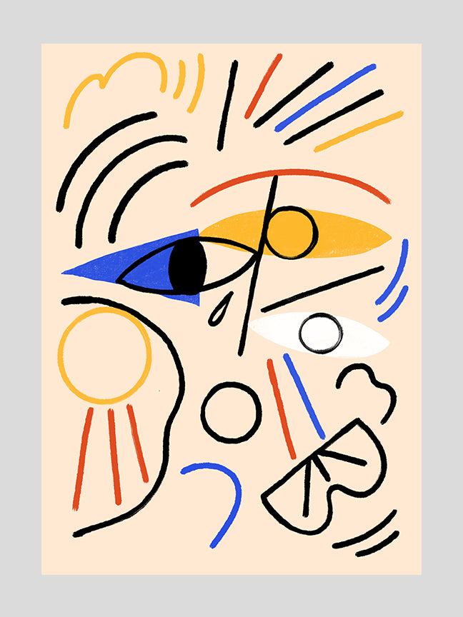Abstract Face 2