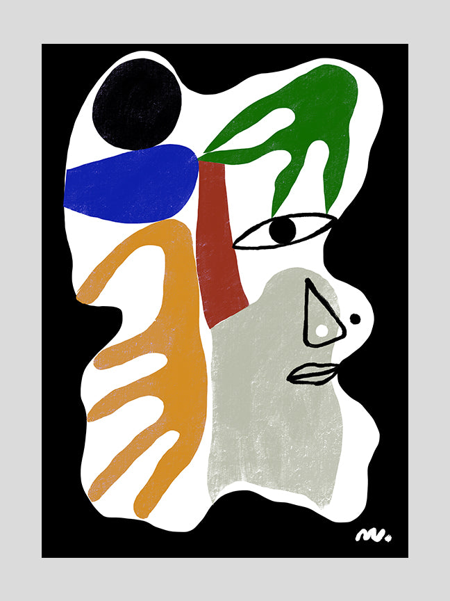 Abstract Face 5