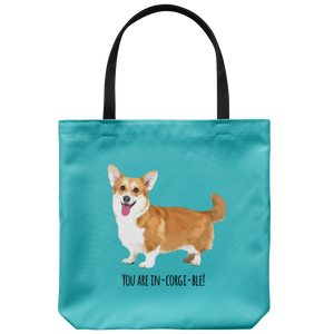 French Bulldog - You are In-corgi-ble! - Tote Bag