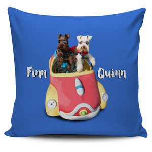 JOYRIDE with FINN & QUINN Pillow Cover