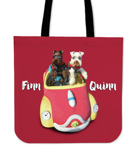 JOYRIDE with FINN & QUINN Tote Bag