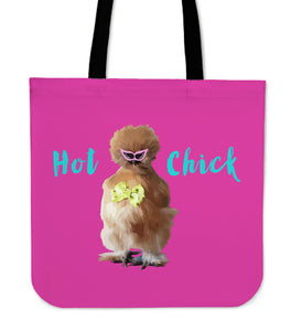 Pudding Hot Chick Tote Bag - @Ilovechookens