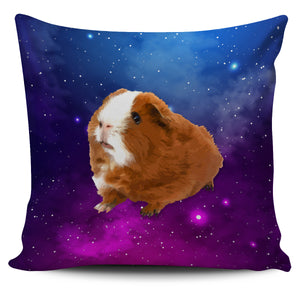 Extraordinaire Guinea Pig in Galaxy - Pillow Cover