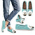 Custom Casual Shoes Geometric Style 1 - Teal