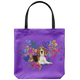 Beagle #2 Heart Shape Flower Tote Bag