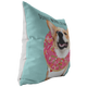 Corgi - DONUT WORRY, BE HAPPY Pillow