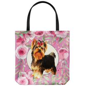 Custom Roses Garden Tote Bag