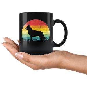 Vintage German Shepherd, German Shepherd Gift, German Shepherd Mug, K9 Police Dog Mug, GSD Mug