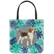 Beagle Forest Style Tote Bag