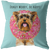 Custom DONUT WORRY, BE HAPPY Pillow