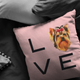 Yorkshire Terrier - LOVE Pillow