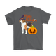Happy Halloween - Beagle Witch Pumpkin Unisex T-Shirt