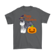 Happy Halloween - Miniature Schnauzer Witch Pumpkin Unisex T-Shirt