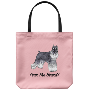 Miniature Schnauzer - Fear The Beard - Tote Bag
