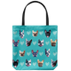 French Bulldog Faces - Tote Bag