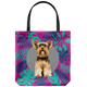Yorkshire Terrier - Forest Style Tote Bag