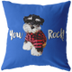 Custom - You Rock! Pillow (background color can change to anything)