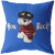 Cute Miniature Schnauzer - You Rock! Pillow