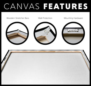 Custom Canvas - Solid Background Color of Your Choice