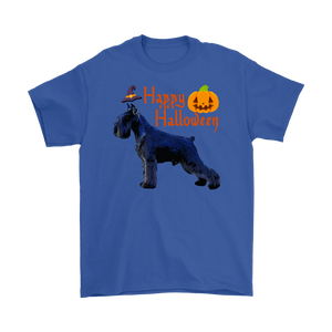 Happy Halloween - Giant Schnauzer Witch Pumpkin Unisex T-Shirt