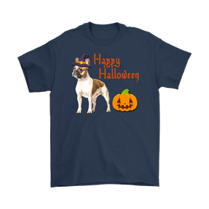Happy Halloween - French Bulldog Witch Pumpkin Unisex T-Shirt