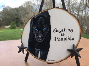Anything is Possible - Handpainted Acrylic Painting