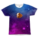 Extraordinaire Guinea Pig in Galaxy - All Over Print T-Shirt