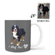 Custom Mug - To Feature Your Own Pet! Grey Background.