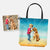Custom Summer Holiday Tote Bag
