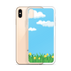 Custom iPhone Case - Blue Sky Yellow Flower