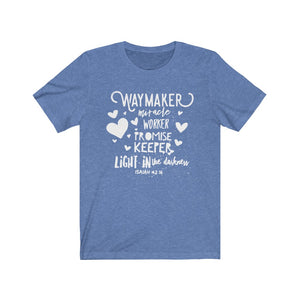 Way Maker, Miracle Worker, Promise Keeper, Christian Shirt, Way Maker Song Shirt, Promise Keeper