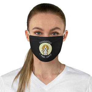Namastay 6 feet Away Fabric Face Mask, Beagle Face Mask, Washable Reusable Face Mask