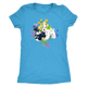 T-Shirt Schnauzers with Spring Flowers Design - Longsleeved T-Shirt