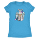 Schnauzer Cupid #1 Women Triblend T-Shirt