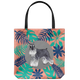 Miniature Schnauzer - Forest - Tote Bag
