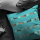 Dachshund Collections Pillow