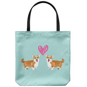 Custom Two Pets Love - Tote Bag