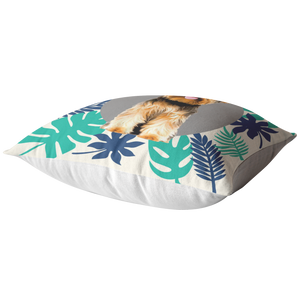Yorkshire Terrier - Forest Style Pillow
