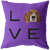 Beagle - LOVE Pillow