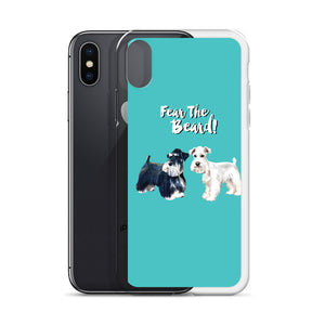 Phone Case Fear The Beard Schnauzers Iphone Case