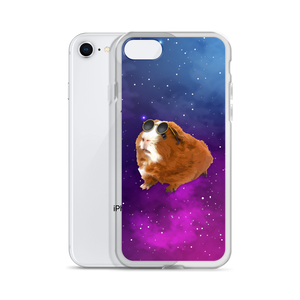 Extraordinaire Guinea Pig in Galaxy - iPhone Case