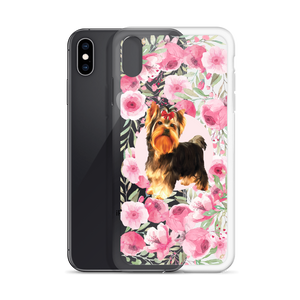 Yorkshire Terrier - Rose Garden - Phone Case