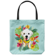 Custom Tropical Design - Tote Bag